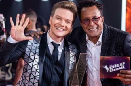 Tony Gordon vence o The voice Brasil e Michel Teló é penta