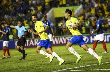 Brasil ganha da França de virada e vai à final do Mundial Sub-17
