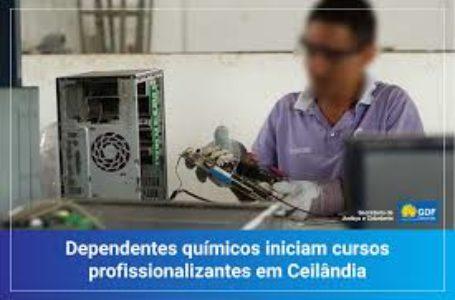 Dependentes químicos ganham oportunidades com ofertas de cursos profissionalizantes