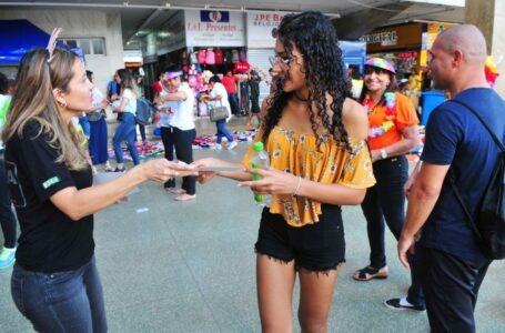 Campanha alerta para importunação sexual no Carnaval