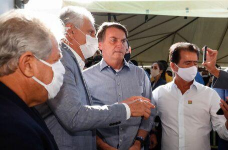 Bolsonaro inaugura hospital de campanha para covid-19 em Águas Lindas