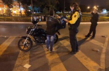 OPERAÇÃO SOSSEGO | Durante o fim de semana, Detran-DF flagrou 29 motociclistas com escapamento irregular