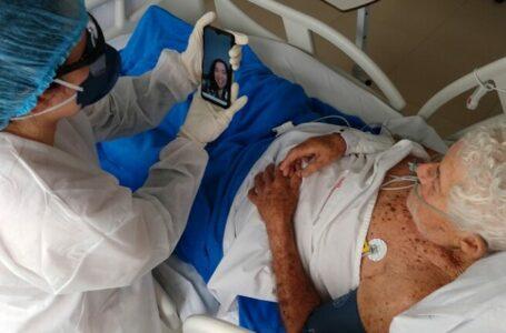 Delmasso apresenta projeto para que pacientes com covid possam ter visita virtual de familiares