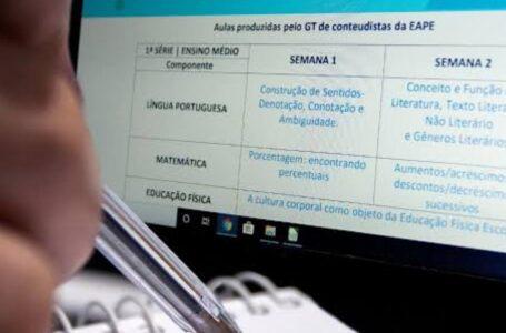 Escolas públicas do DF reiniciam ano letivo não presencial