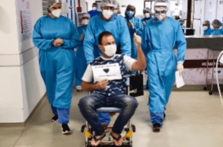 Hospital de campanha da PM tem as primeiras altas de pacientes