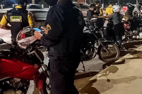 Operação Sossego flagra 37 motos em Taguatinga