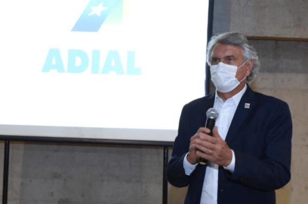 Caiado articula com Adial metas para a retomada econômica de Goiás