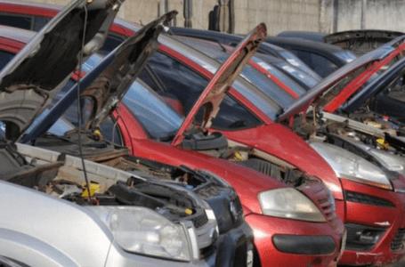 Detran vai leiloar 1.760 veículos nos dias 17 e 18 de agosto