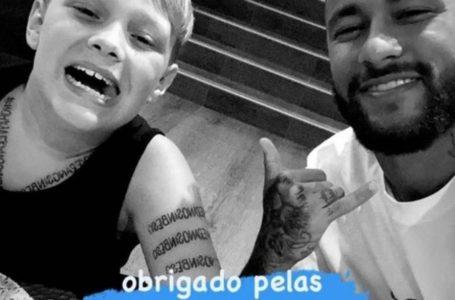 Neymar se manifesta após testar positivo: 'Estamos bem'