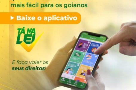 'Tá na Lei': aplicativo do Governo de Goiás ajuda cidadãos a conhecer as leis e a defender seus direitos
