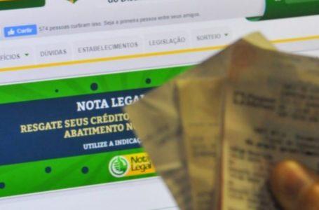 Nota Legal sorteia R$ 3 milhões em prêmios na próxima terça (27)