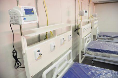 Equipamentos de hospital desativado serão distribuídos