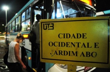 GDF assume gestão do transporte público da região do Entorno