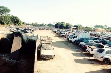 Megaoperação do Detran limpa pátios de veículos apreendidos