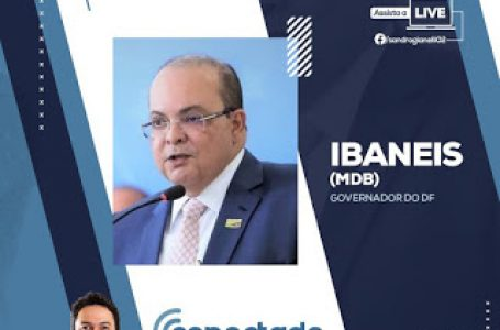 Ibaneis Rocha é o entrevistado do Conectado ao Poder neste domingo (9)