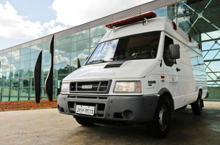 Mais uma ambulância para o atendimento da Saúde ao cidadão
