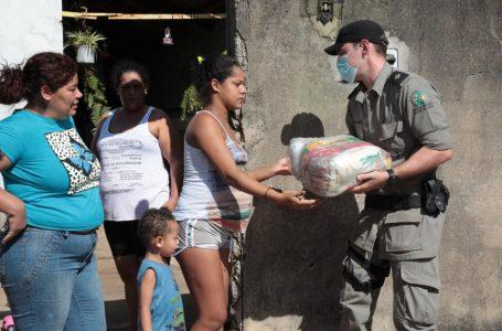 Governo de Goiás e OVG distribuem mais de 14 mil cestas básicas em 40 bairros de Goiânia
