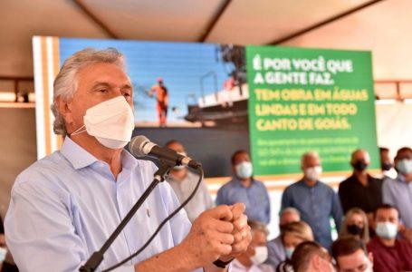 Caiado anuncia, para setembro, retomada de obras do Hospital de Águas Lindas de Goiás