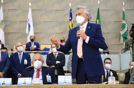 """""""Vocalizem a necessidade de as pessoas tomarem a segunda dose"""", pede Caiado durante Convenção Estadual dos Ministros das Assembleias de Deus em Goiás"""