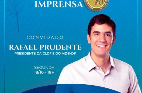 Rafael Prudente é o entrevistado da Sala de Imprensa da ABBP na próxima segunda (18)